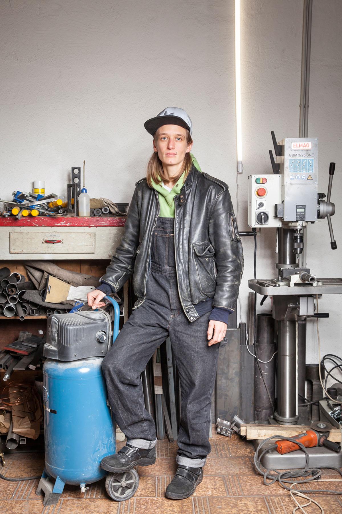 Porträt  Foto: Carolina Frank © Bildrecht, Wien 2020