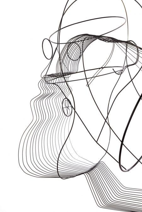 Constantin Luser O1 der Philosoph, 2017 Messing gelötet und lackiert 65cm x 45cm x 45cm Foto: kunst.dokumentation / Manuel Carreon Lopez   Privatsammlung Wien/AT © Bildrecht, Wien 2020