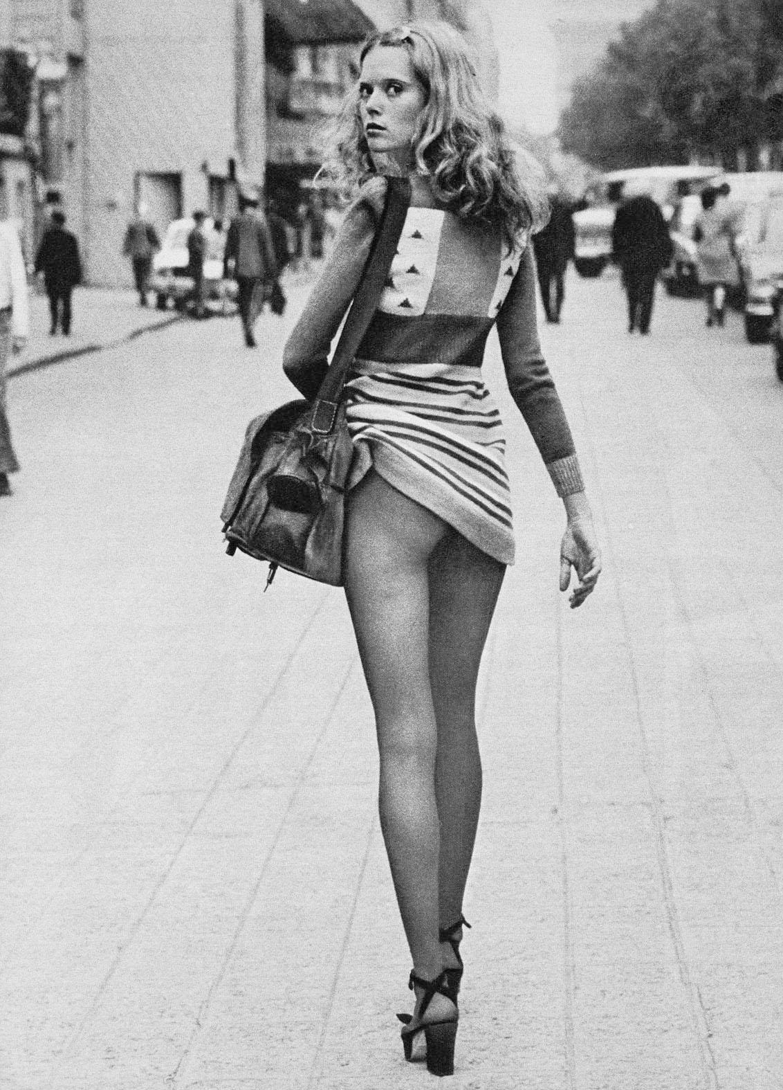 Alice Springs, Fashion for Dépeche Mode, Paris 1971, copyright Alice Springs, courtesy Helmut Newton Foundation