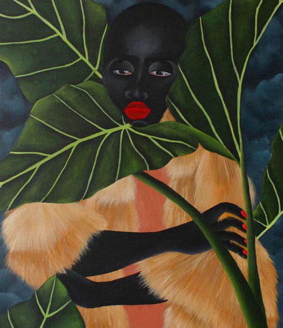 Solo exhibition. Zandile Tshabalala