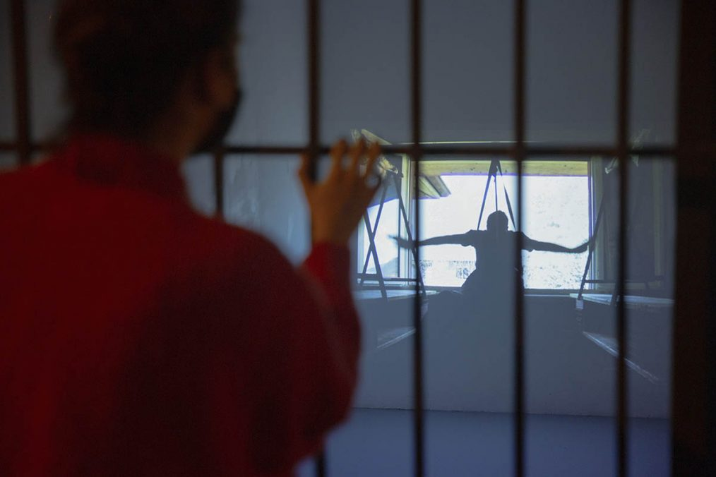 Exhibition View, Windows, a series of screenings for passers-by