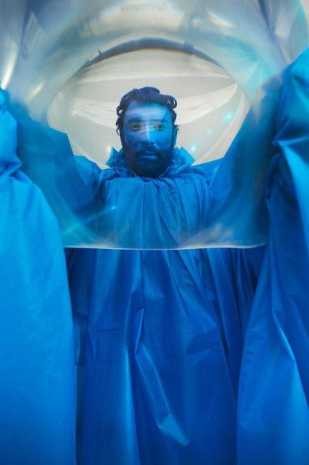 Conchita Wurst, Le Grand Bleu. Foto: Hilde van Mas
