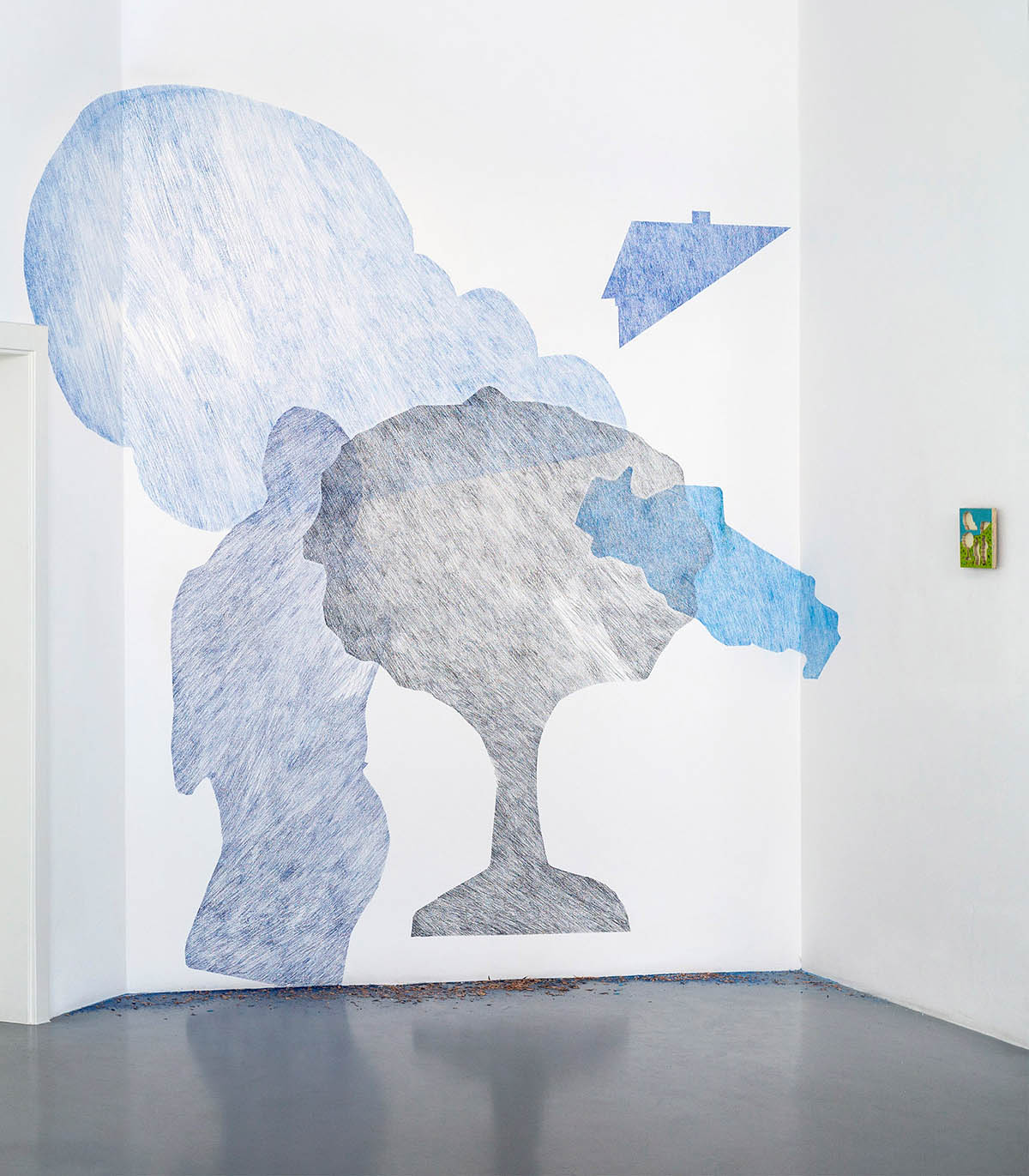 Ilona Rainer-Pranter im RLB Atelier Lienz