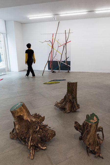 Elena Kristofor, Entwurf eines Waldes in der Steppe, 2021, Foto: Lisa Rastl