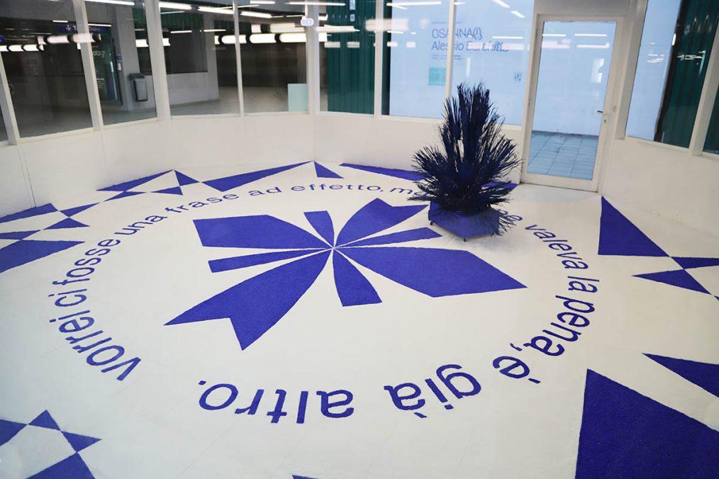 Alessio Barchitta, OSANNA(!), 2021, Exhibition view