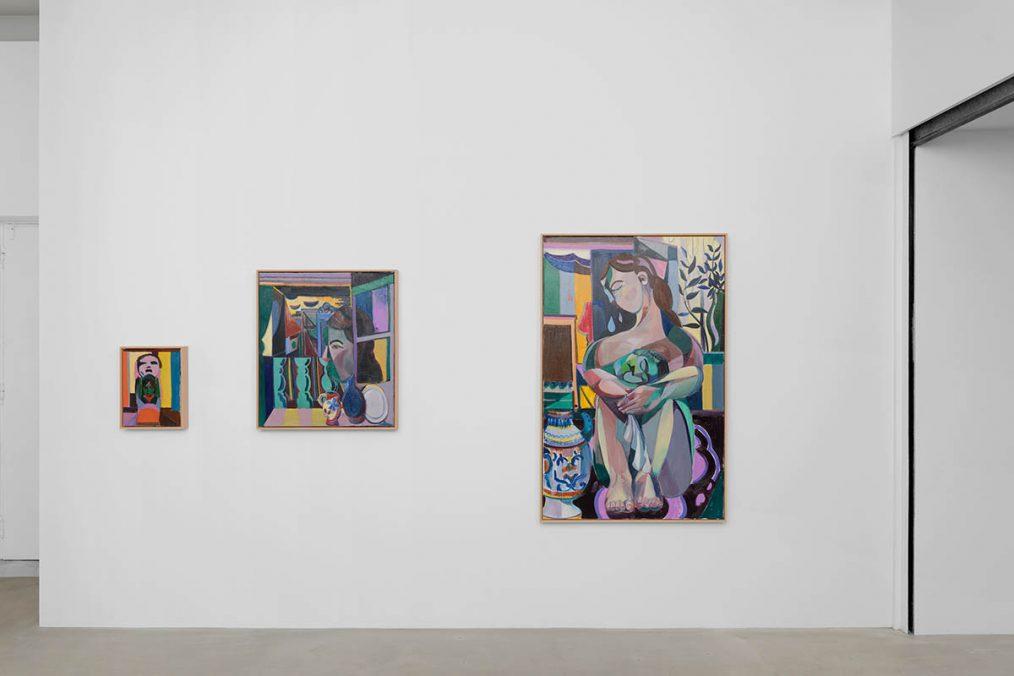 Amber Andrews, Exhibition View, 2020 - 2021. Photo: Aurélien Mole.