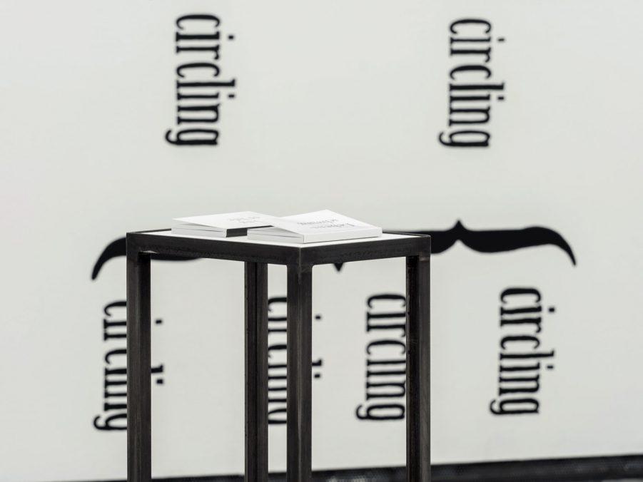 Ausstellungsansicht: SOLO XII ANJA NOWAK, Bleistift auf Papier auf Holz (pencil on paper on wood) Foto: Michael Michlmayr für FOTOGALERIE WIEN
