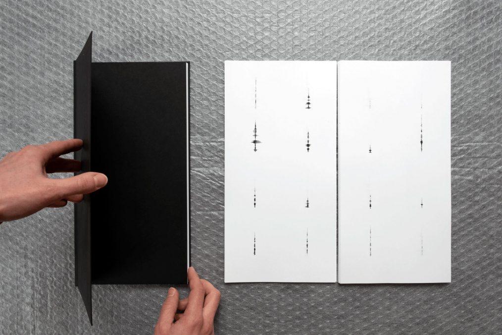 Schwarzes Buch, 2, 2021, KünstlerInnenbuch (Anja Nowak & Arnold Berger) ©Anja Nowak