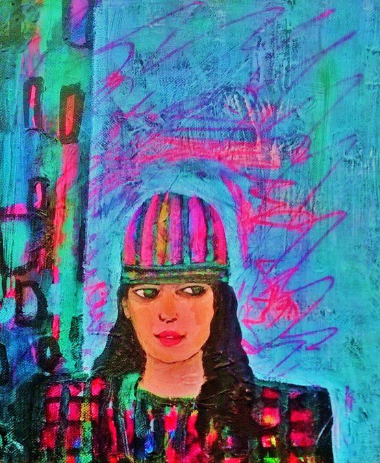 artist Molly Parkin