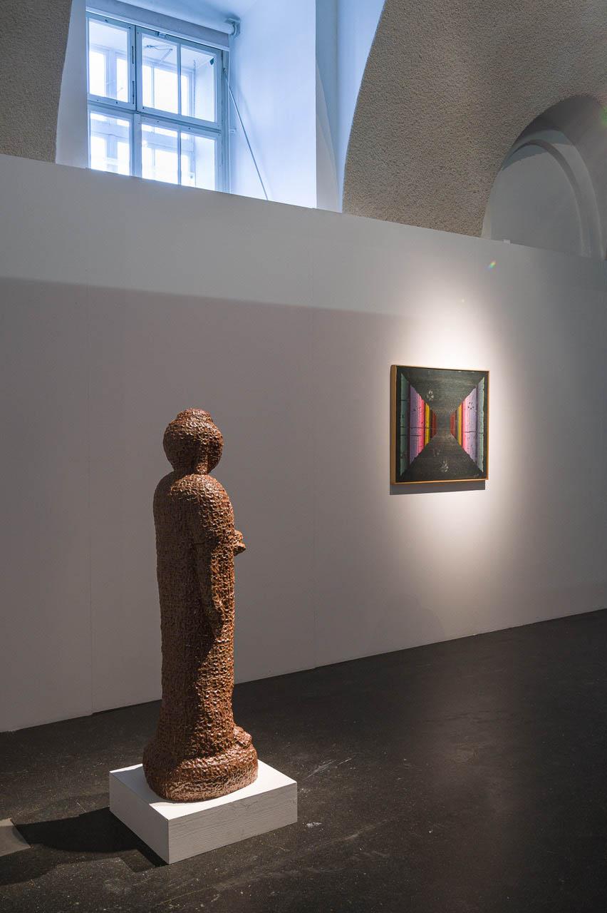 Ausstellungsansicht. Gemeinsam fremd sein