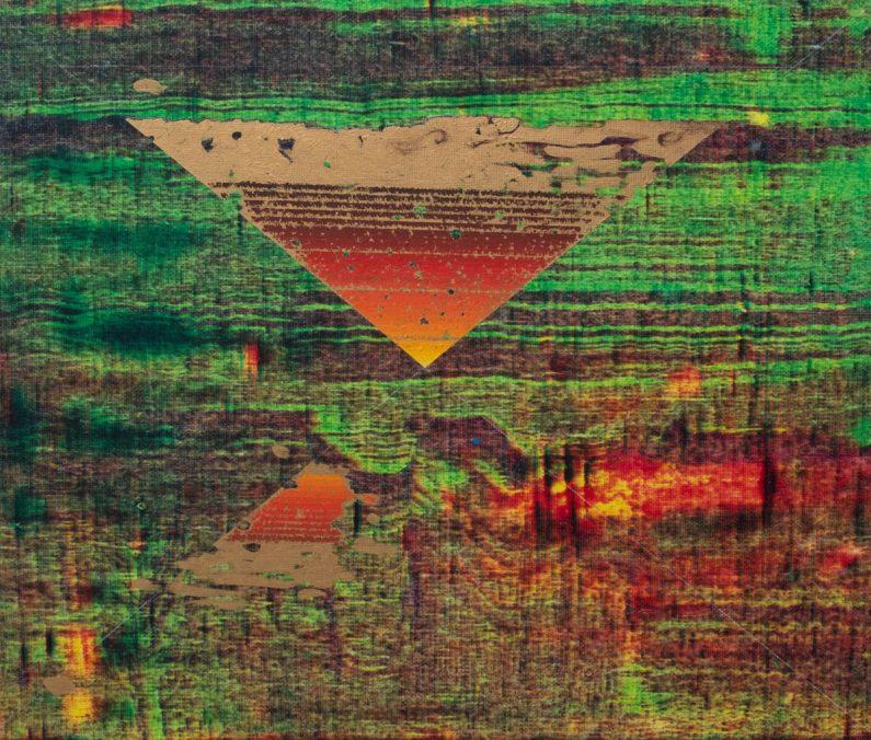 He Wei_No.171, 2020, Öl auf Leinwand, 50x60cm
