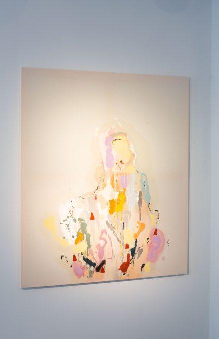 Anna Carina Roth, Wo*man in disguise, Öl auf Leinwand, 130 x 111 cm, 2021
