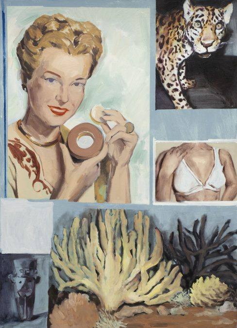_Geschlecht #2_ Oil on canvas, 140x110, 2020