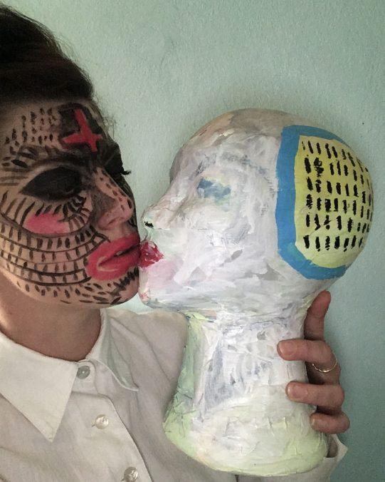 carina papouschek selbstporträt