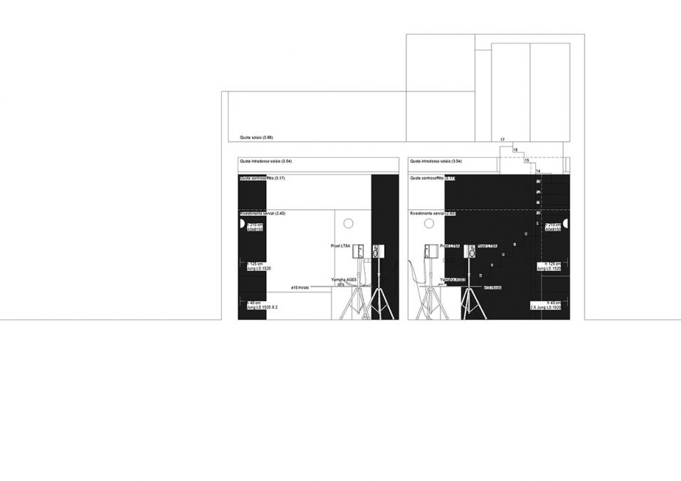 Casa Cicca Museum #3. Project. Black Italy