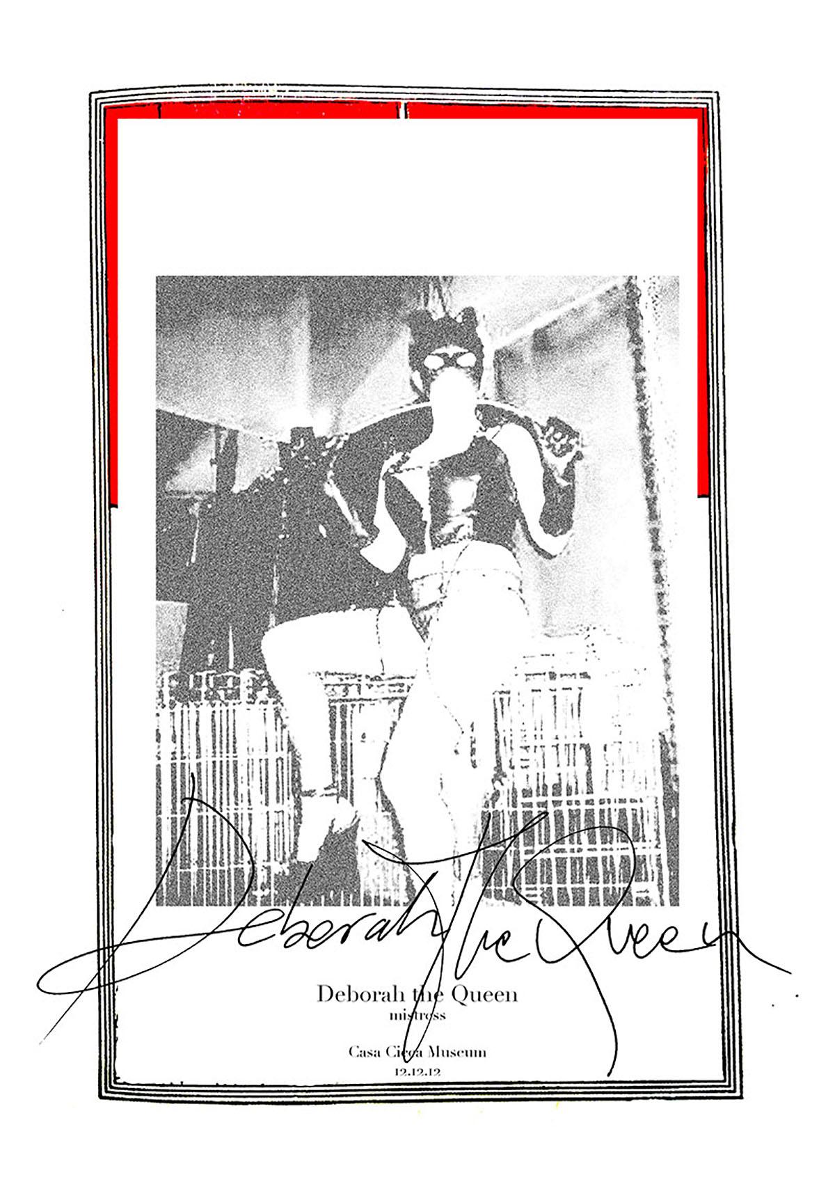 Deborah The Queen. Archive photo. Courtesy of Casa Cicca