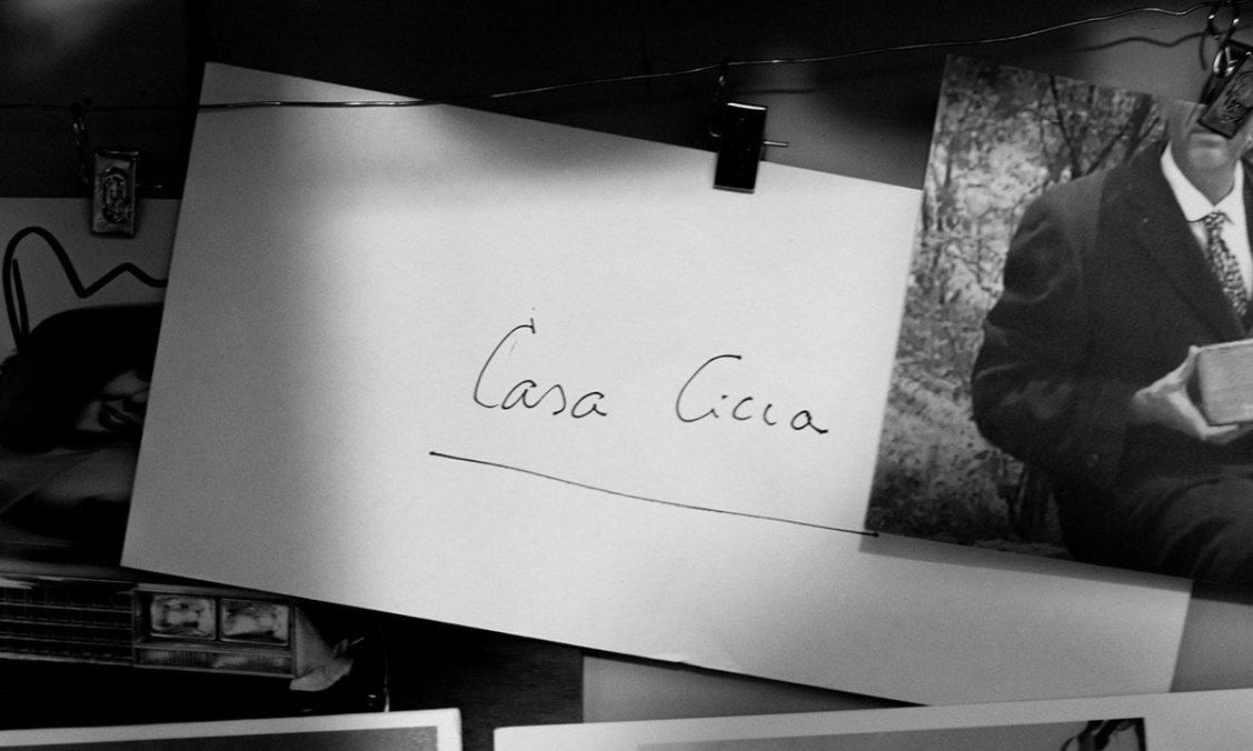 Casa Cicca Museum. LOGO by Lisetta Carmi