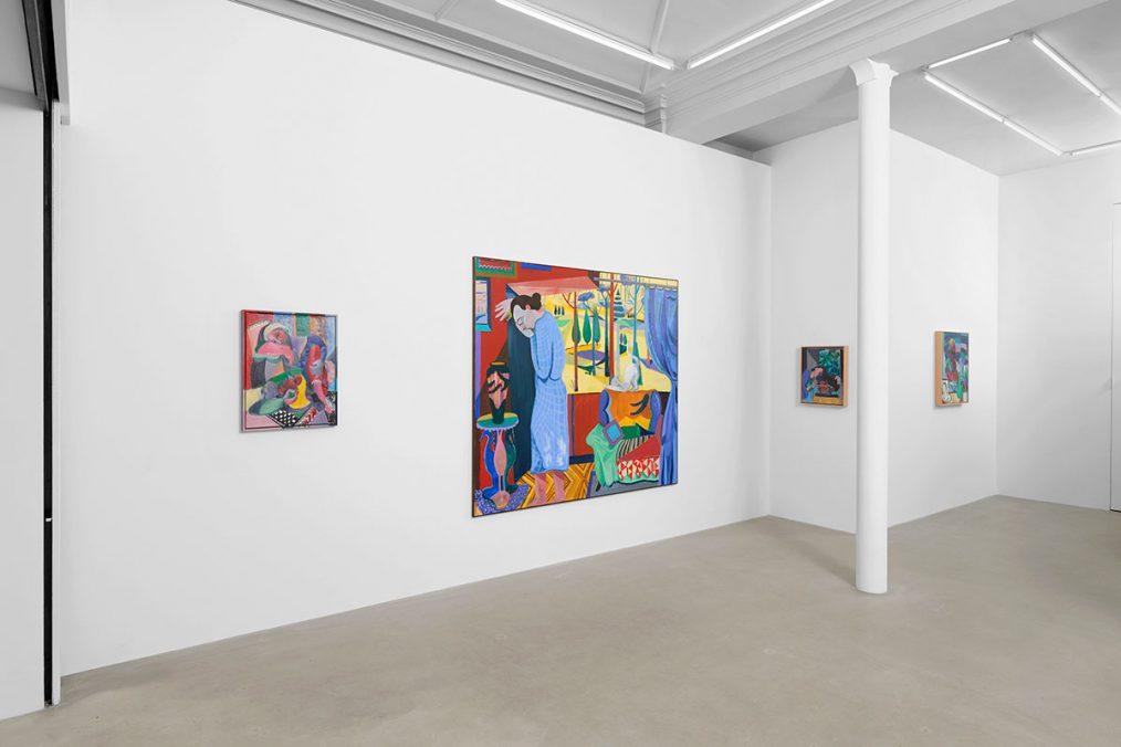 Amber Andrews, Exhibition View, 2020. Photo: Aurélien Mole.