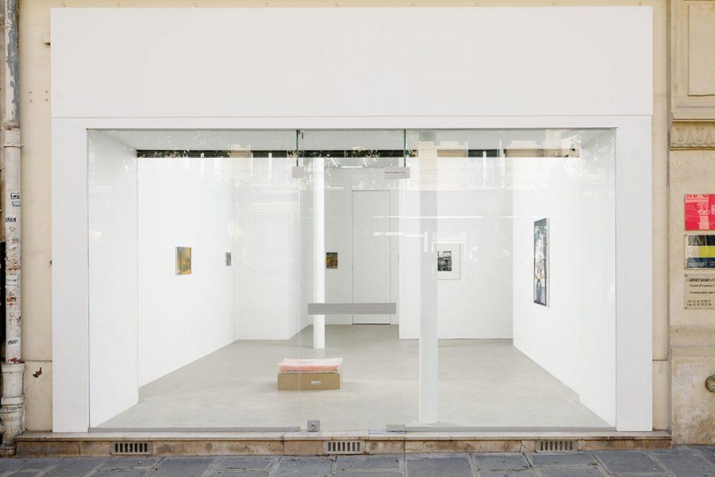Ciaccia Levi Gallery. Façade. Photo: Aurélien Mole.