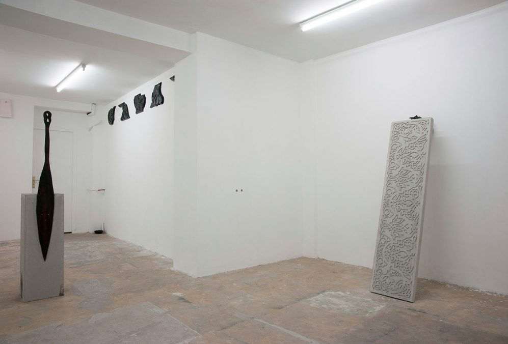 Sean Townley, Problems of Style, 2013. Exhibition view. Photo: Yann Revol.