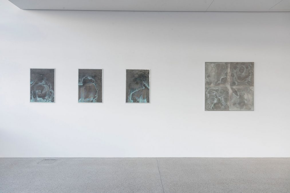 Ausstellungsansichten Here and Elsewhere, 2020, Foto: Clemens Sellaoui