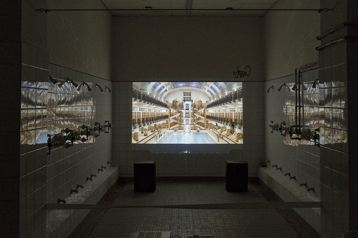 Ausstellung: nosportsjustart. Fotos: Claudio Farkasch