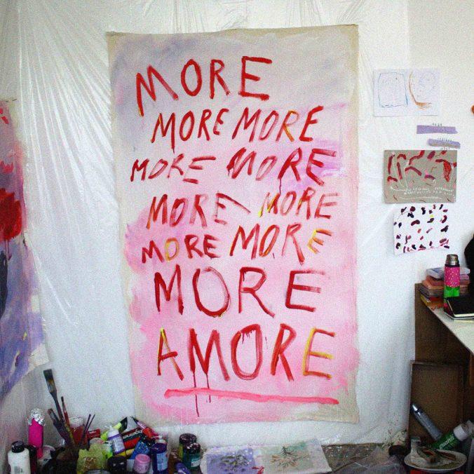 moreamore, 106x200cm, 2021
