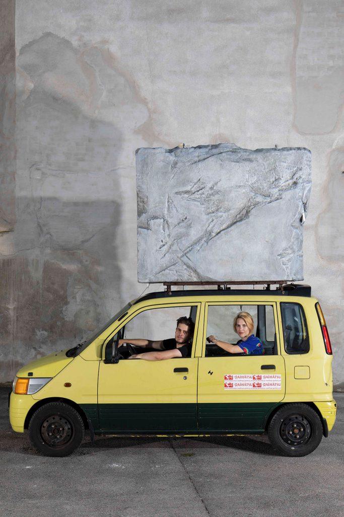 Prêt-à-Porter  Titania Seidl & Lukas Thaler  At Daihatsu-Rooftop-Gallery
