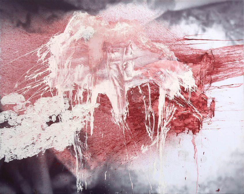 "Daniel Spivakov, ""Untitled (over massacre)"", detail, 2021. Courtesy of the artist and Stallmann, Berlin."