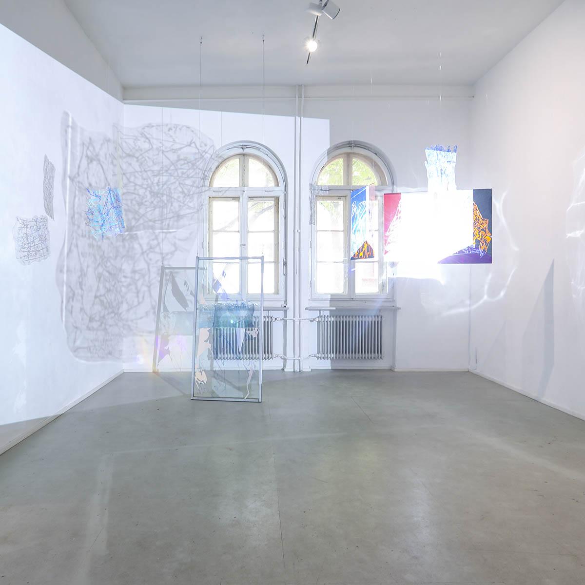 4. Liquidity, Frappant Galerie, Hamburg, 2019 (Foto: Darja Shatalova)