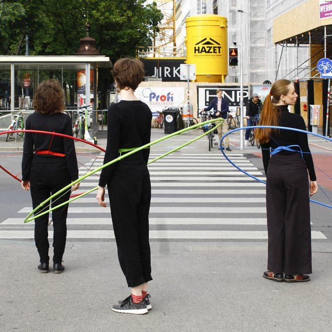 Disjunkte Mengen, Innere Stadt, Wien, 2020 (Foto: Diana Terenteva)