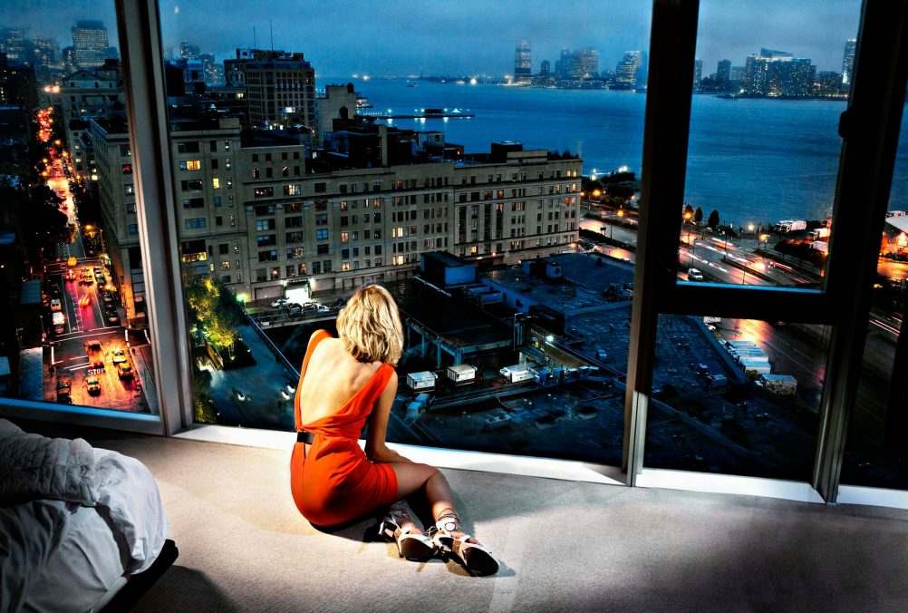 David Drebin Girl in the Orange Dress, 2009 © David Drebin / teNeues