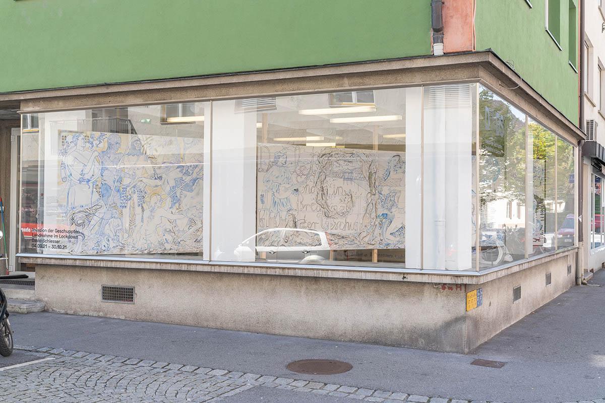 Die Wiedergeburt des Schaufensters Kunst- und Projektraum Jahnstraße 13 - 15