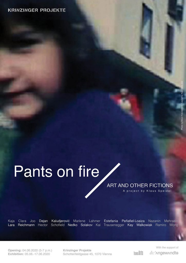 Exhibition: Pants on Fire. Art and other fictions.
