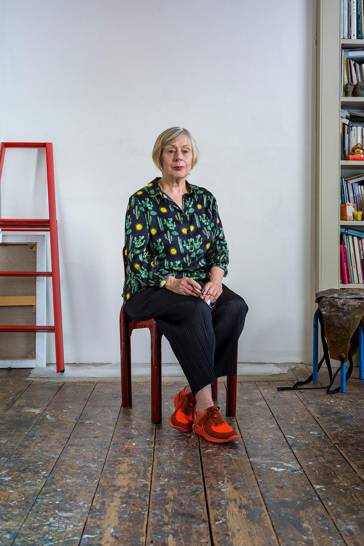Eileen Cooper, 2019. © Malcolm Southward 2019.