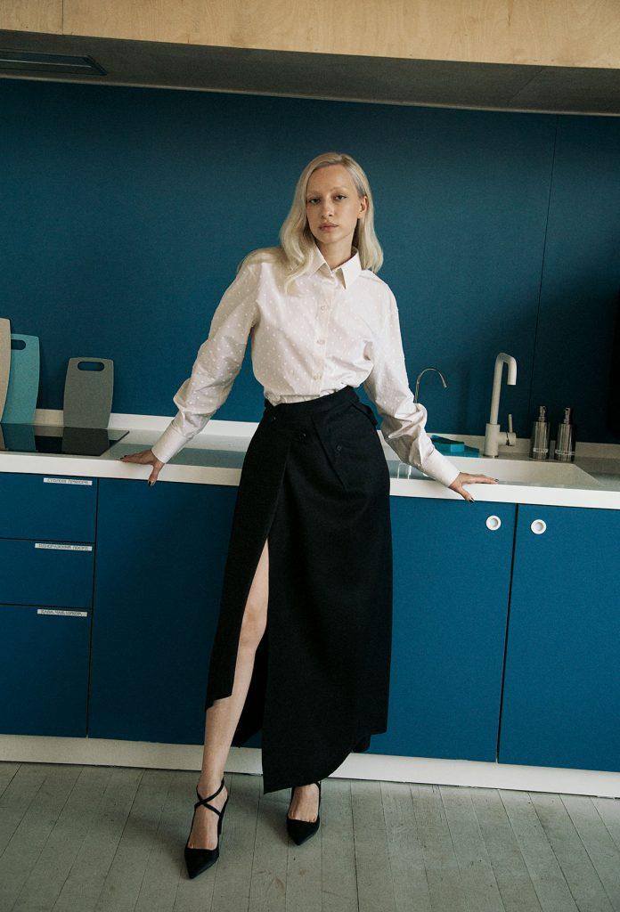 Ukrainian designer Elena Burenina
