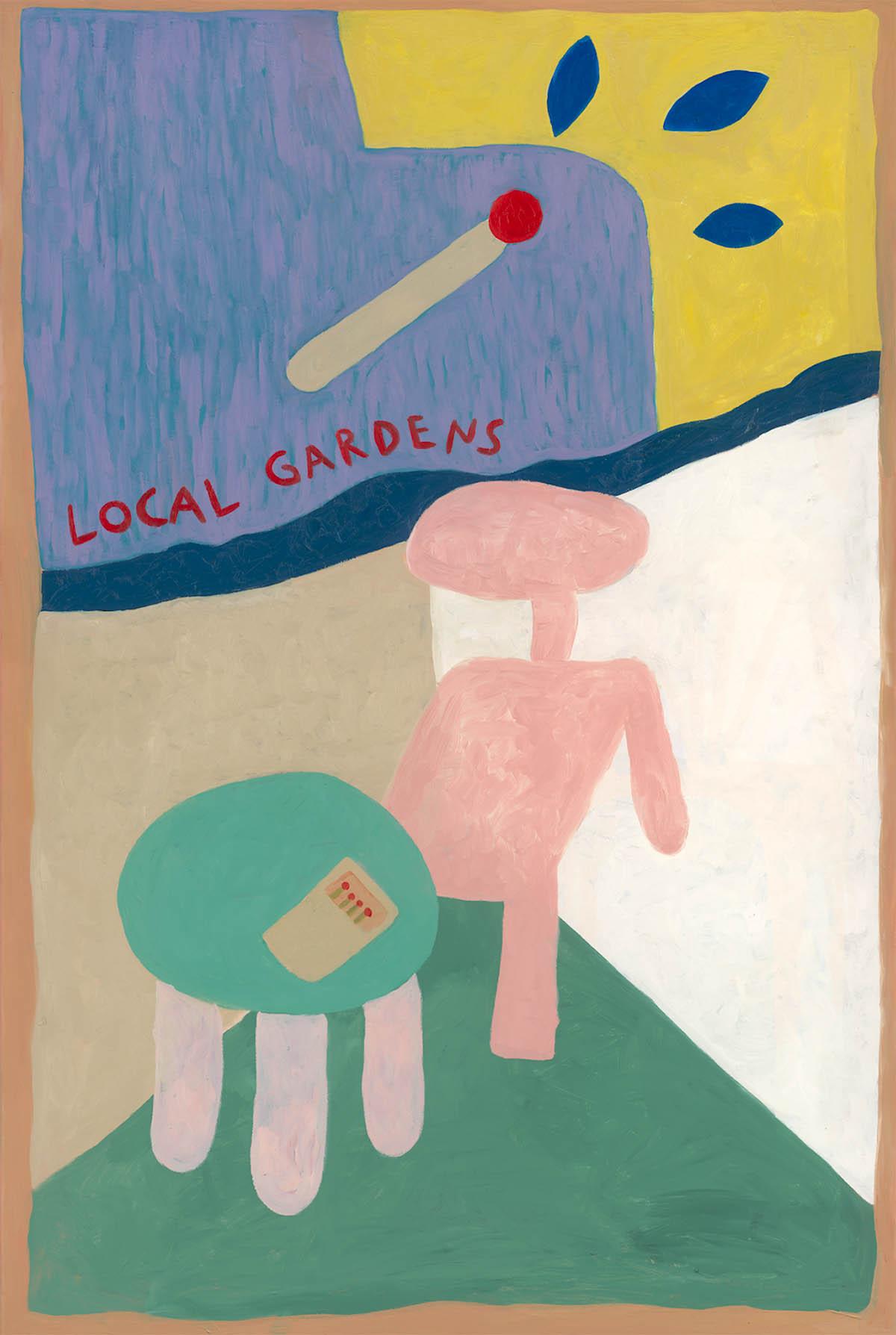 Local gardens - E.T. Chair