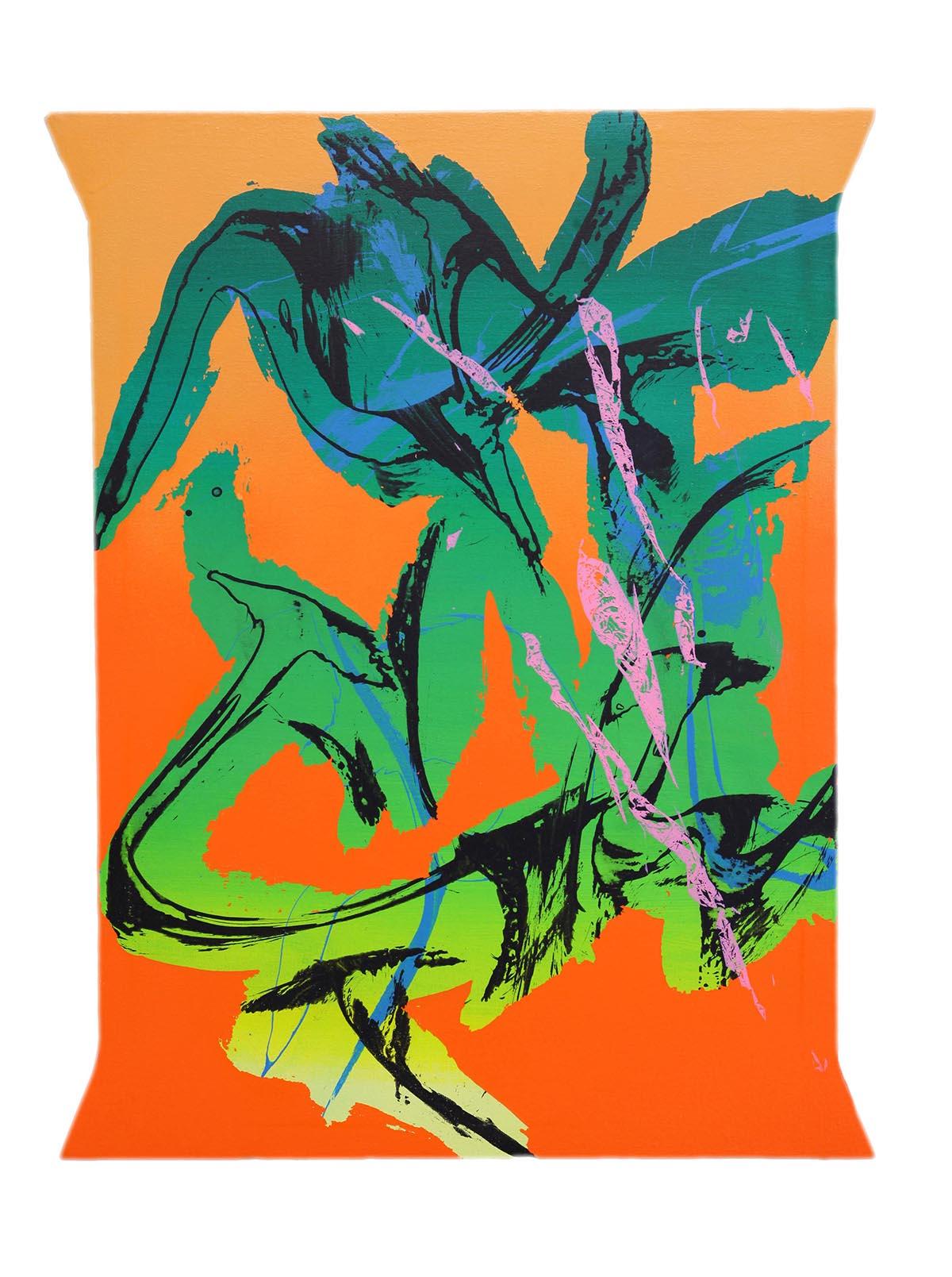 050719,2019,mixed technique on canvas, 45x59cm
