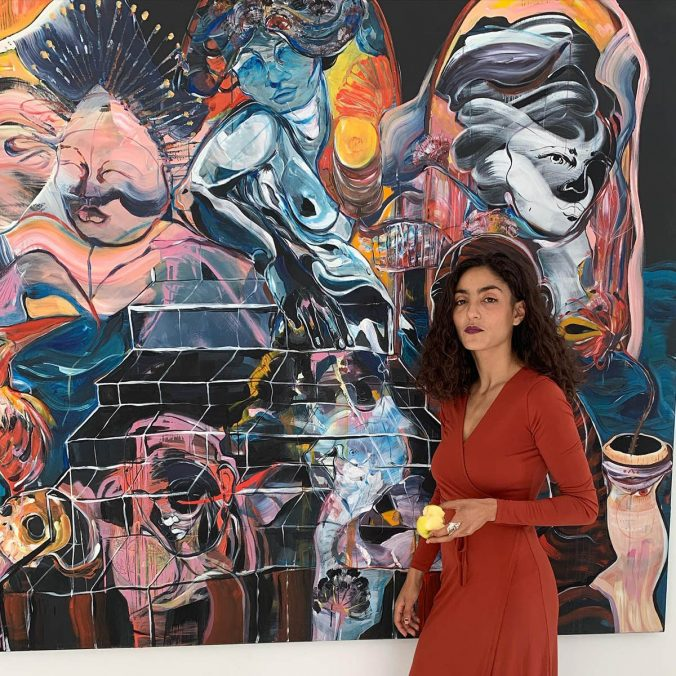 Portrait, solo show in Gisela Kunstraum Berlin 2020