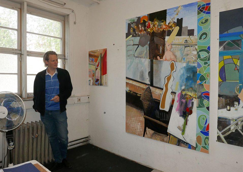 Künstler Georg Frauenschuh. Foto: Gerlind Zeilner