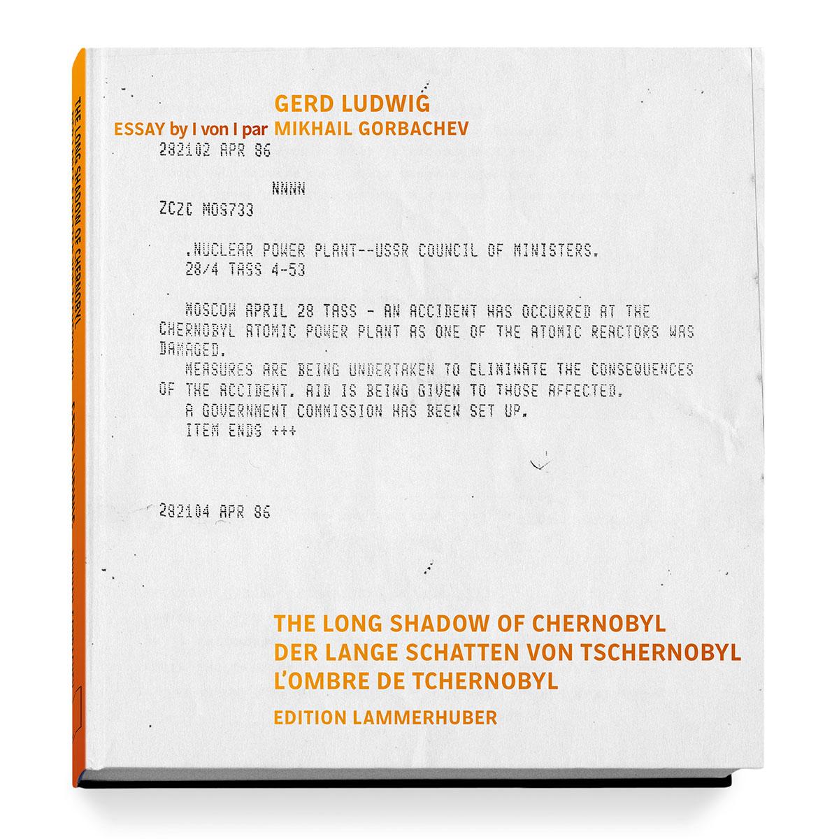 Buchcover Das Fernschreiben der sowjetischen Presseagentur TASS, informiert in knappen Worten erst zwei Tage nach der Katastrophe.