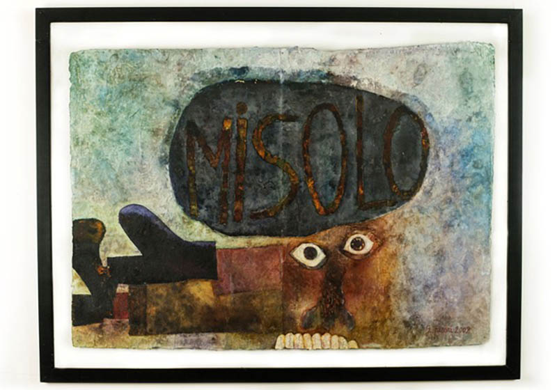 Gianni Pisani, Misolo, Oil on canvas, 60 × 85 cm, 2002
