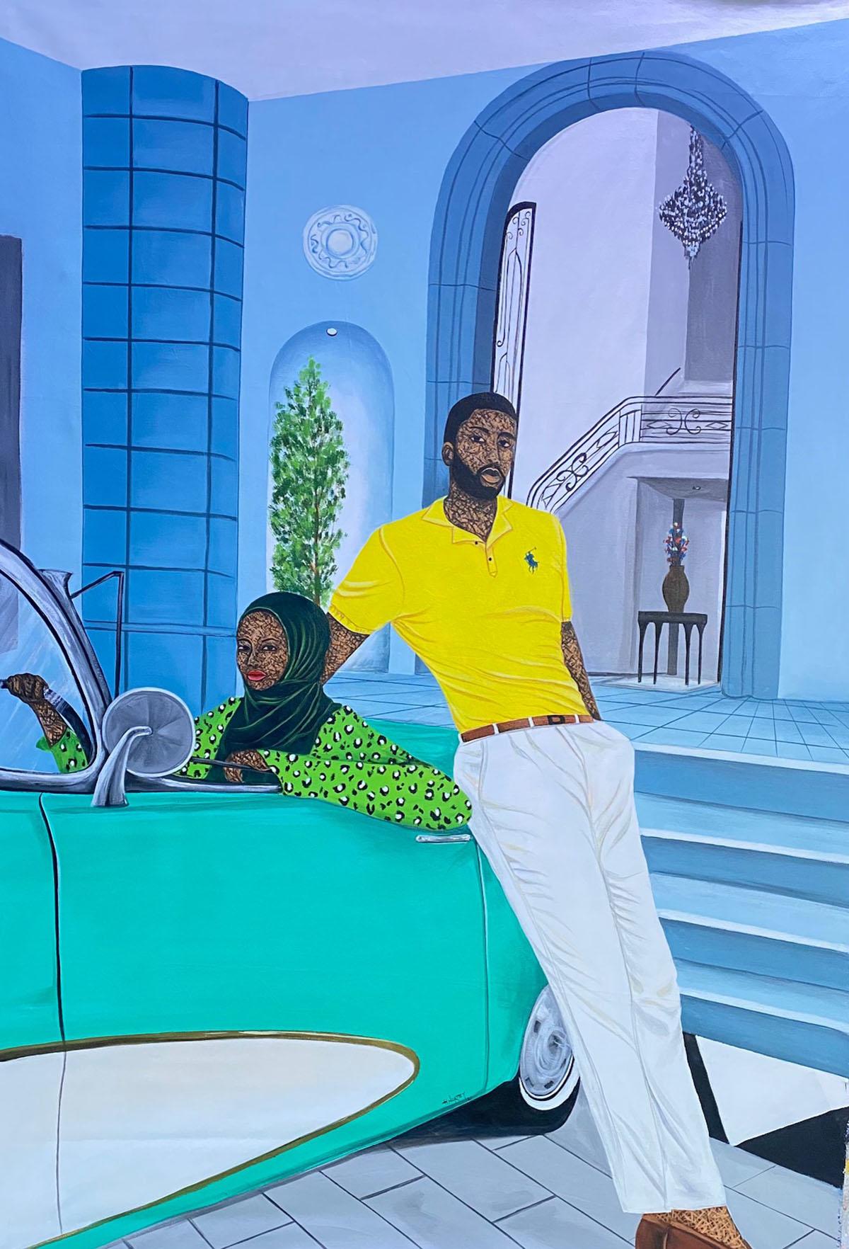 Accra-based ADA artist Hamid Nii Nortey