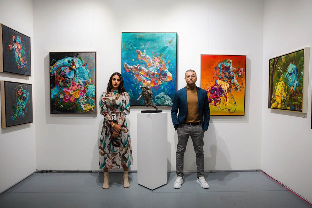 jonlouis art studio interview Jonlouis Gonzalez