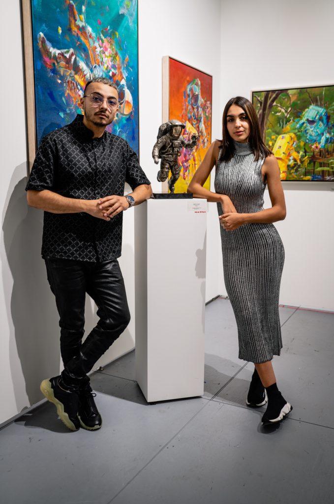 jonlouis art studio interview Yezenia Garcia