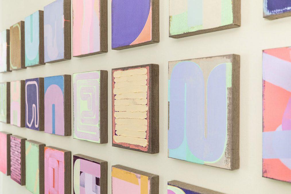 Julia Brennacher Ausstellungsansicht RLB Atelier Lienz, 2021