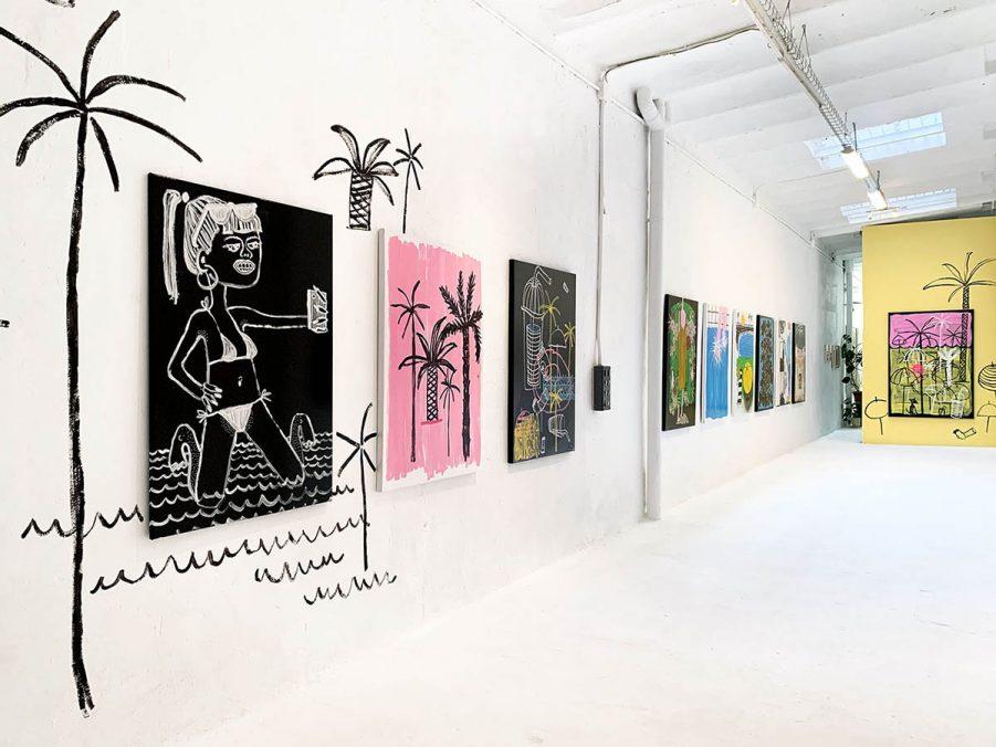 """Einzelausstellung """"forever YOUNG"""" in der Uvxal Gochez Galerie"""