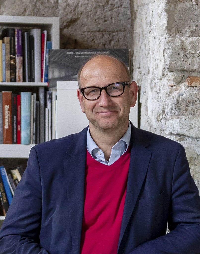 Seit 2017 ist Stefan Wimmer Direktor der KunstAkademie Bad Reichenhall und hat noch viel mit ihr vor – unter anderem will er die Teilnehmerzahl innerhalb der nächsten zehn Jahre verdoppeln. Bildnachweis: KunstAkademie Bad Reichenhall