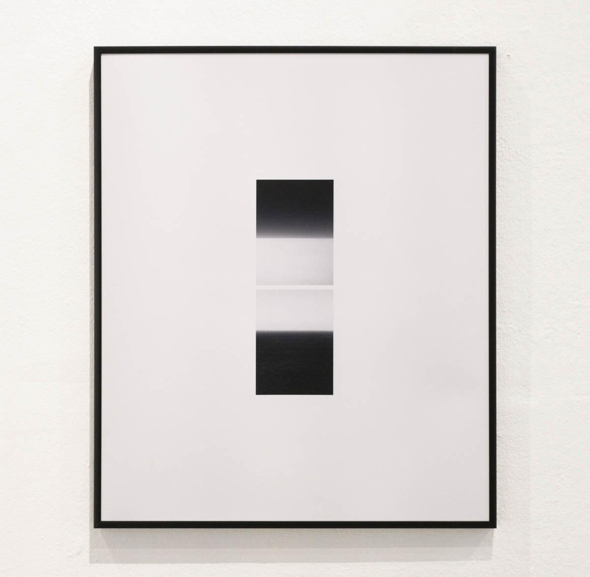 «Himmel auf Wolke auf Himmel auf Wasser », Pigmentdruck, 60 x 50 cm, 2019