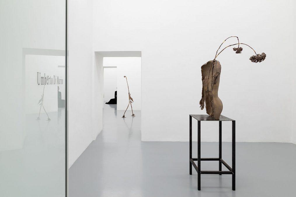 Luca Francesconi, Hormone Disruptors, 2021, exhibition view at Umberto Di Marino Gallery, Photo: Danilo Donzelli